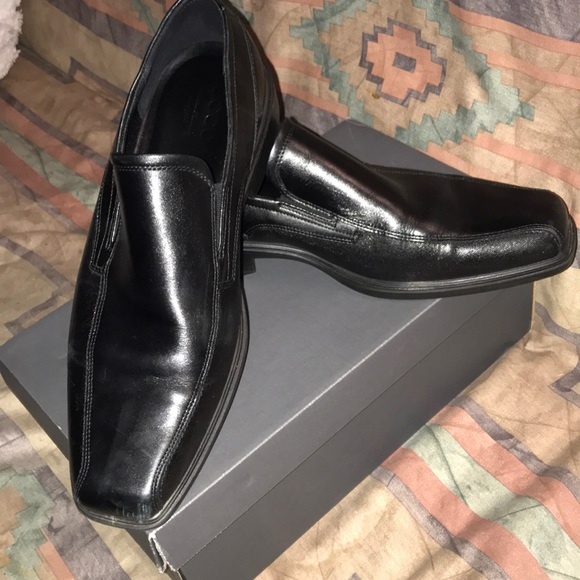 Ecco As New 11/45 Leather Johannesburg Slide In